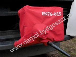 Osłona sprzęgu czołowego i międzywagonowego z brezentu DL-12-005-10