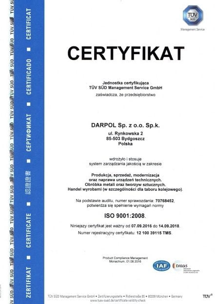 ISO DARPOL
