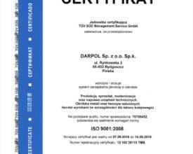 Darpol ISO 9001