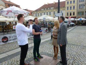 TVP Bydgoszcz - Dariusz Jasiński i Aleksandra Jasińska-Kloska