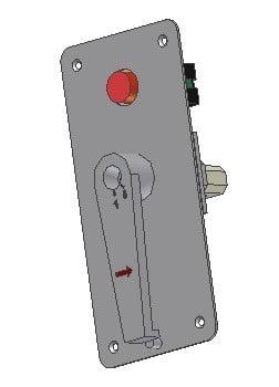 Wyłącznik blokowania drzwi DL-O 17 047-00