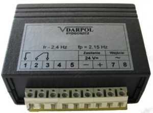 Przekaźnik częstotliwości układu blokady drzwi DL-O 30 030-00 (odp. RFT)