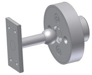 Zatrzask drzwi przedziałowych DL-O 17 002-00