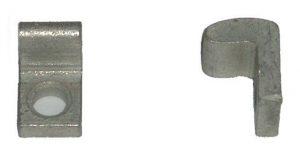 Styk ruchomy KE3D stycznika wału kułakowego (odp. N44398) DL-O 10 002-00