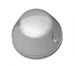 Lampka sygnalizacyjna otwarcia i zamknięcia drzwi automatycznych DL-O 30 025-00