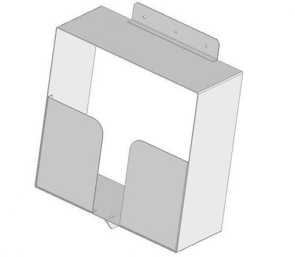 Pojemnik podumywalkowy na ręczniki papierowe DL-O 14 007-00