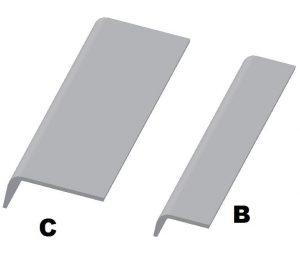 Profil wykończeniowy typ B i C DL-O 04 002-01