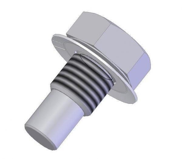 Śruba specjalna z podkładką M20 i M30 (DL-O 30 022-01 i DL-O 30 022-02)