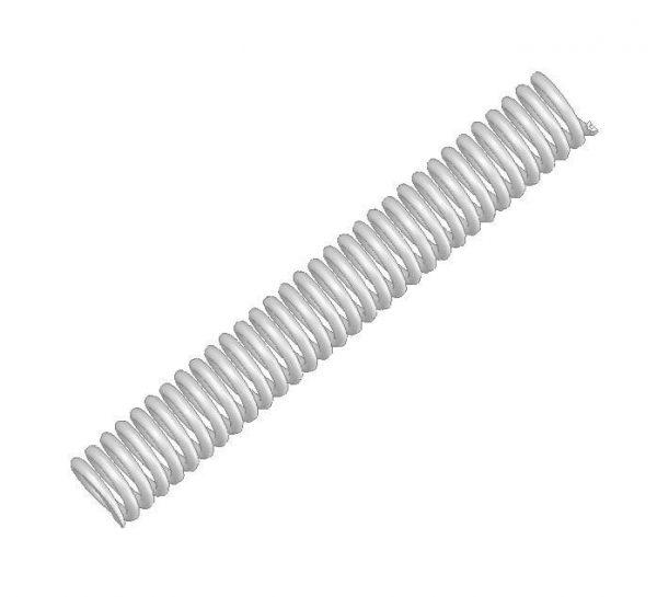 Sprężyna rygla górnego układu blokowania drzwi DL-O 17 015-01