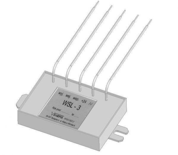 Wzmacniacz impulsów układu blokowania prędkości WSL3 -D DL-O 30 013-00