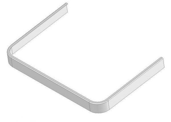 Listwa stolika podokiennego DL-O 13 002-00