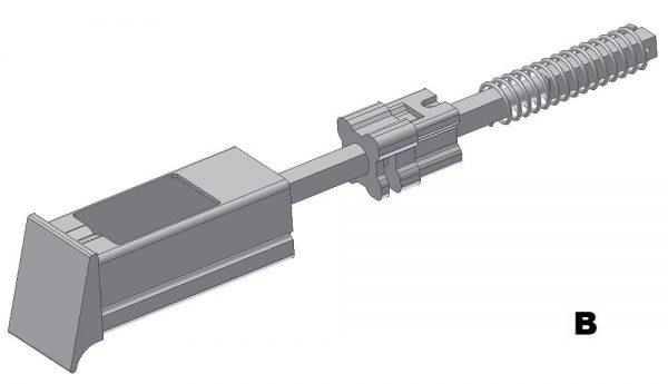 Popielniczka podłokietnika typ B DL-O 13 004-00