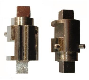 Wkład zamka drzwi wejściowych szynobusu VT 627, 628 DL-O 16 054-00