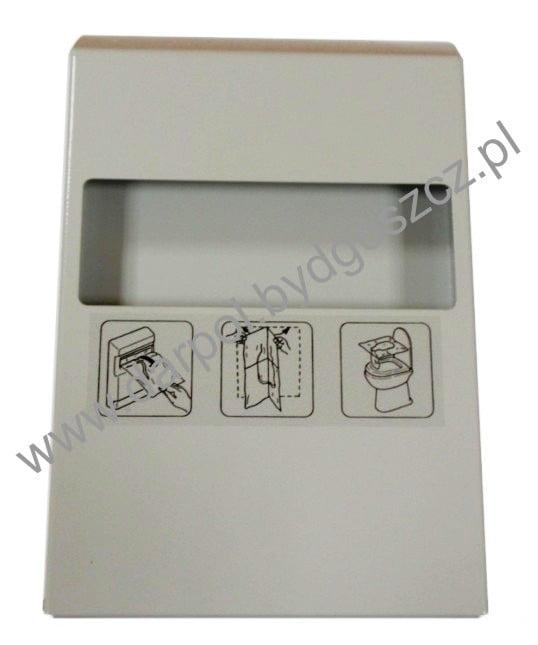 Pojemnik na podkładki higieniczne WC DL-14-014-00