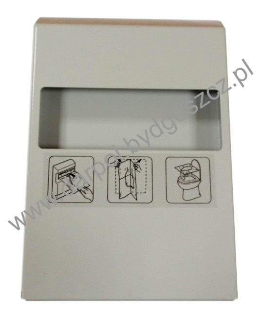 Pojemnik na podkładki na deskę ustępową DL-14-014-00