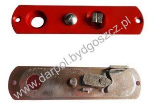 Szyld środkowy zamka drzwi czołowych DL-17-054-00