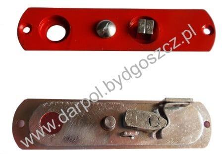 Szyld środkowy zamka drzwi międzywagonowych DL-17-054-00