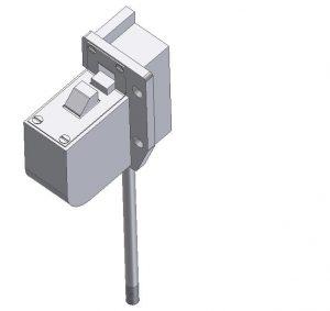Rygiel górny układu blokady drzwi DL-O 17 018-00