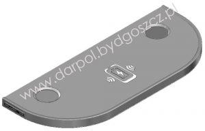 DL-36-009-01 Stolik z ładowarką indukcyjną i ładowarką USB