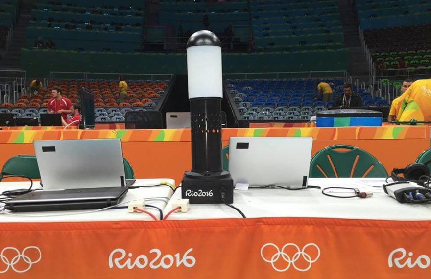 Darpol buzzer in Rio 2016