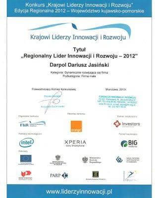 DARPOL_Lider Innowacji i Rozwoju 2012.jpg