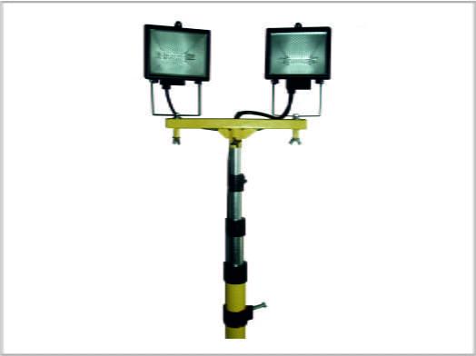 maszt oświetleniowy teleskopowy
