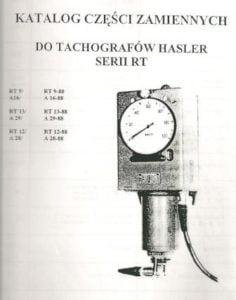 Hasler Bern - części zamienne do nadajników i szybkościomierzy