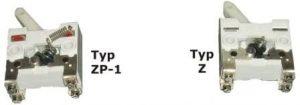 Wyłącznik Z i wyłacznik ZP1
