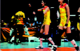 Darpol volleyball buzzers in Rio2016
